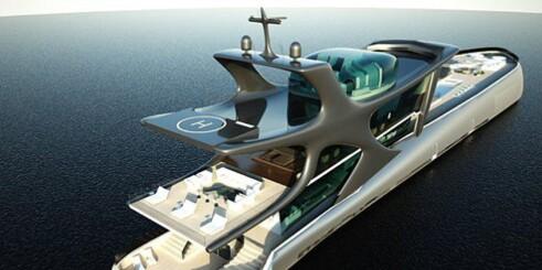 Ny superyacht til 1,2 milliarder kroner