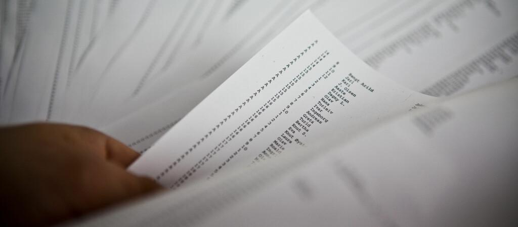 <b>Nær 217.0000 personer på svarteliste:</b> Rekordmange nordmenn sliter med å gjøre opp for seg, viser nye tall fra kredittinformasjonsselskapet Experian. Foto: Per Ervland