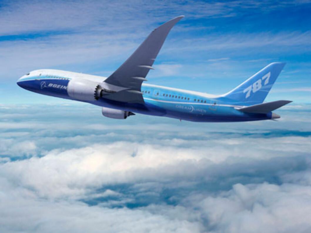 787 Dreamliner vil ikke bli levert før tidligst i slutten av 2010 - tre år etter planen. Foto: Boeing