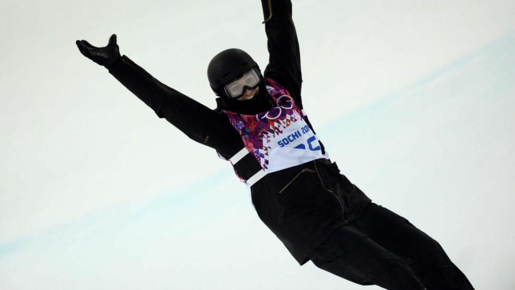 <strong>I-Pod:</strong> Iouri Podladtsjikov vant halfpipe-konkurransen i Sotsji. Foto: AFP PHOTO / FRANCK FIFE / NTB Scanpix