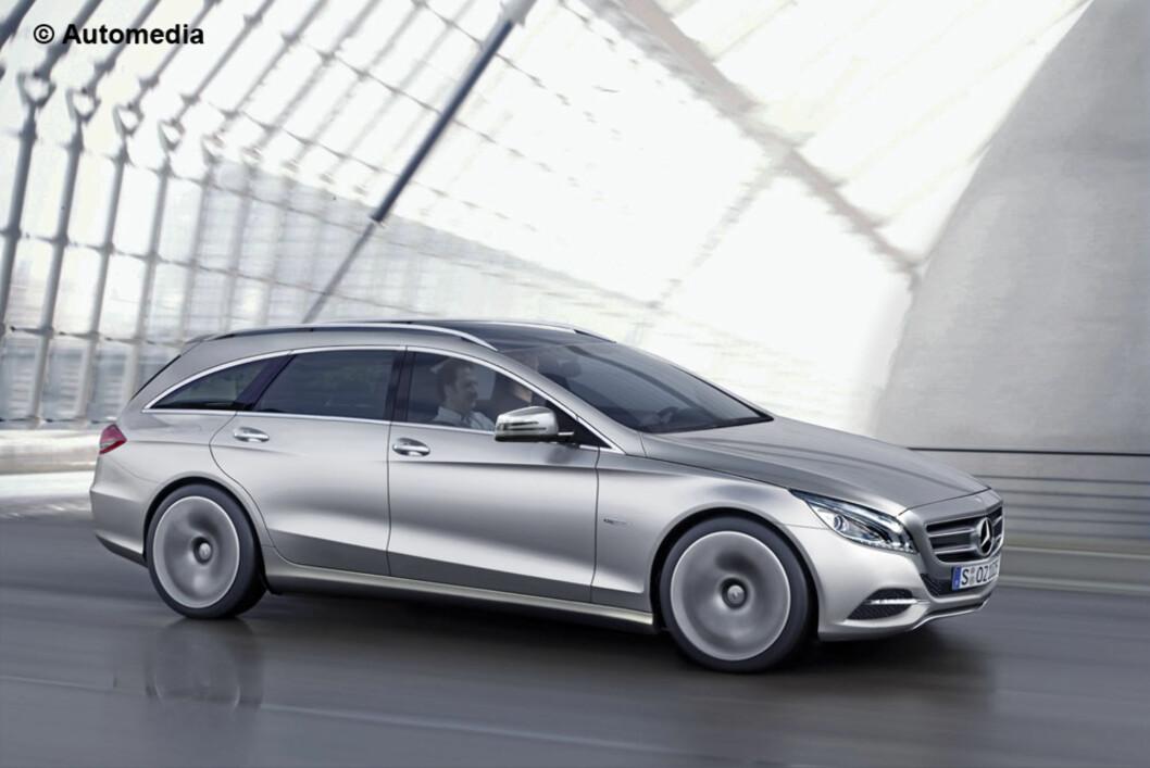 Automedia ser for seg at neste Mercedes C-klasse vil se slik ut når den lanseres i 2014. Foto: Automedia