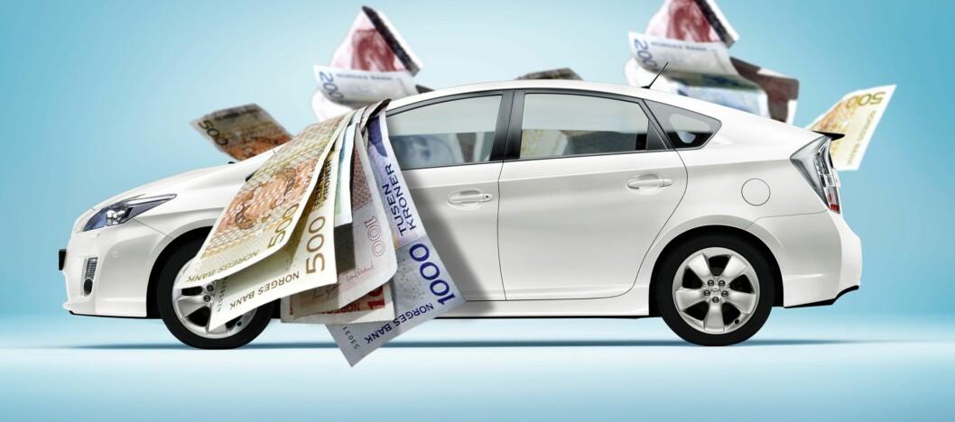 <strong><b>LÅN:</strong></b> Skal du kjøpe deg drømmebilen må du ofte ut med en god slump penger. Da er det viktig å sjekke flere alternativer, på den måten kan du spare tusener.  Foto: Per Ervland