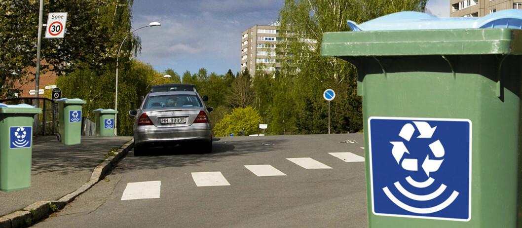 <strong>SLØV?</strong> Søppelbøttene som kan avsløre om du er en dårlig sorterer. Foto: Per Ervland