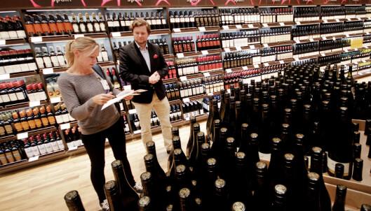 <strong>BILLIGERE MED VIN:</strong> Vin er alltid billigere på taxfree. Foto: Ole Petter Baugerød Stokke