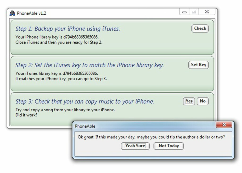 image: Koble iPhone til flere PC-er?