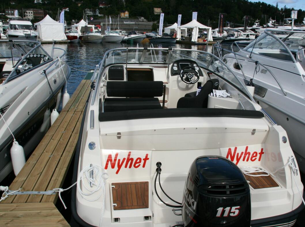 <strong>Norgespremiere:</strong> Askeladden C62 Cruiser. Messepris: 429.100 kroner, veil. pris: 442.700 kroner. Maks seks personer, liggeplass til 2 + 2.  Foto: Kristin Sørdal