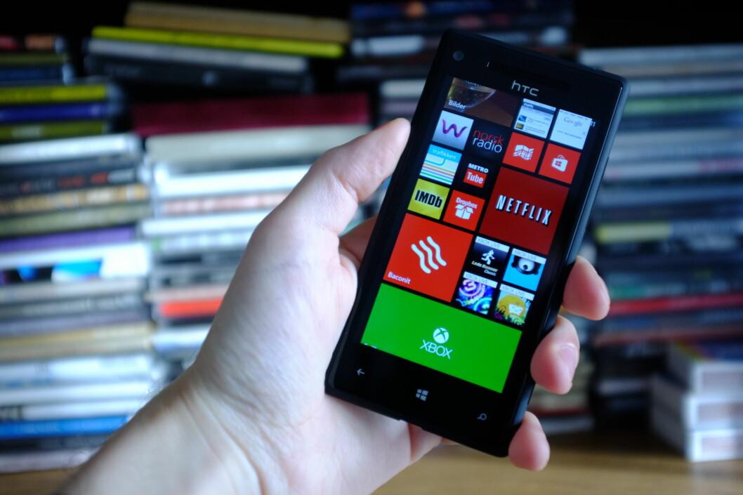 Windows Phone har foreløpig ikke vært noen braksuksess, men de som har kjøpt er mest fornøyde av alle. Foto: Ole Petter Baugerød Stokke