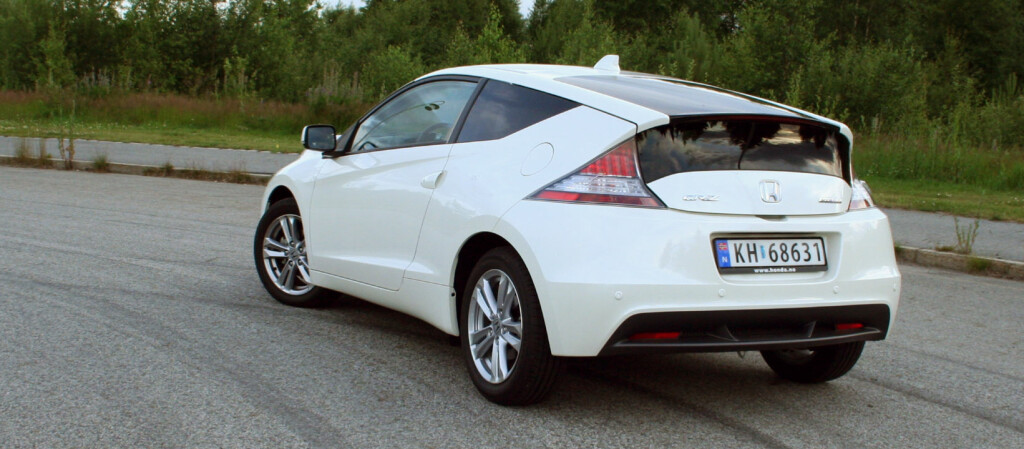 Honda CR-Z gjorde det meget godt hos Euro NCAP og rykket rett inn på DinSides NCAP-pall. Foto: Knut Moberg