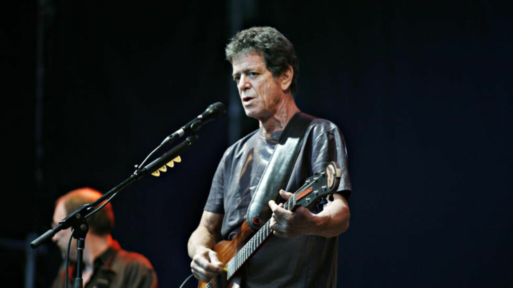 URBAN, MØRK ENGEL:  Lou Reed under Norwegian Wood i 2006. Foto: Sveinung Uddu Ystad.
