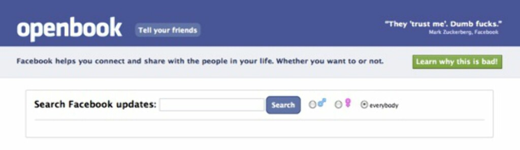 image: Facebook blokkerer YourOpenBook
