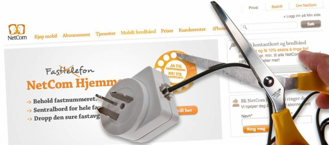 Mobiltelefonen har hatt en vanvittig gjennomslagskraft i Norge og resten av verden. Nå utsettes den klassiske fasttelefonen for nok en trussel. Foto: Per Ervland