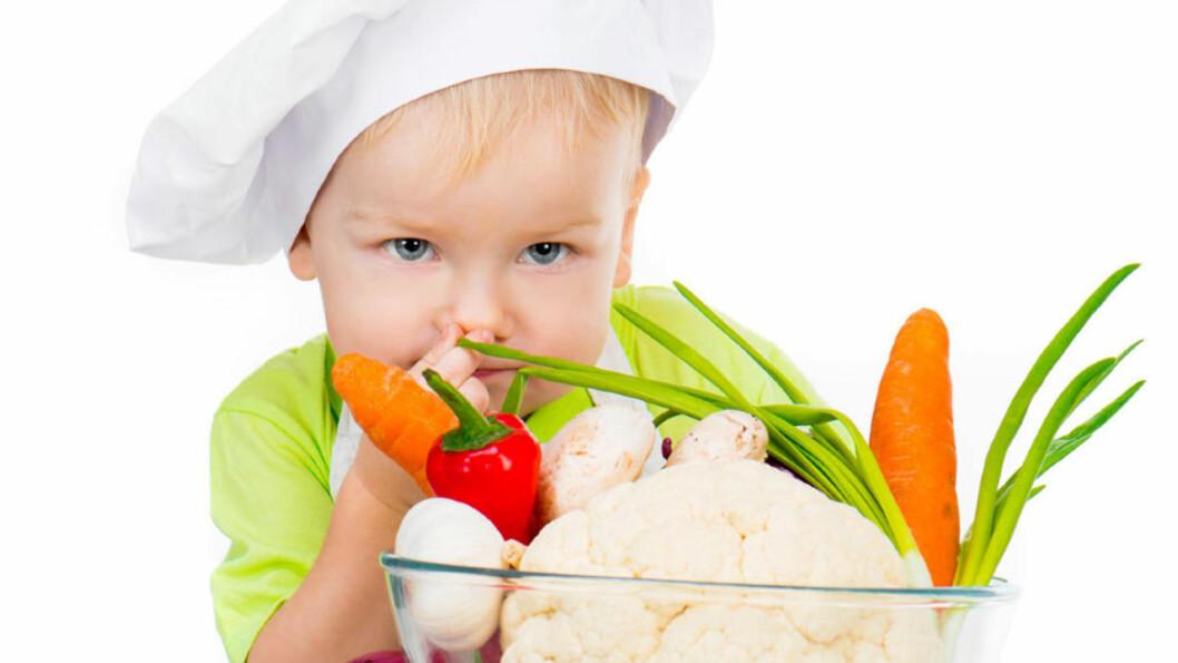 <strong>VIL IKKE HA:</strong> Ekspertene anbefaler variert inntak av grønnsaker. Lettere sagt enn gjort... Foto: Colourbox.com