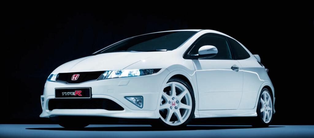 Civic Type R ble presentert på bilutstillingen i Paris for fire år siden