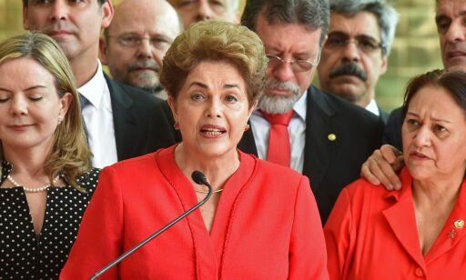 image: Dilma Rousseff ble ikke dømt etter tiltalen