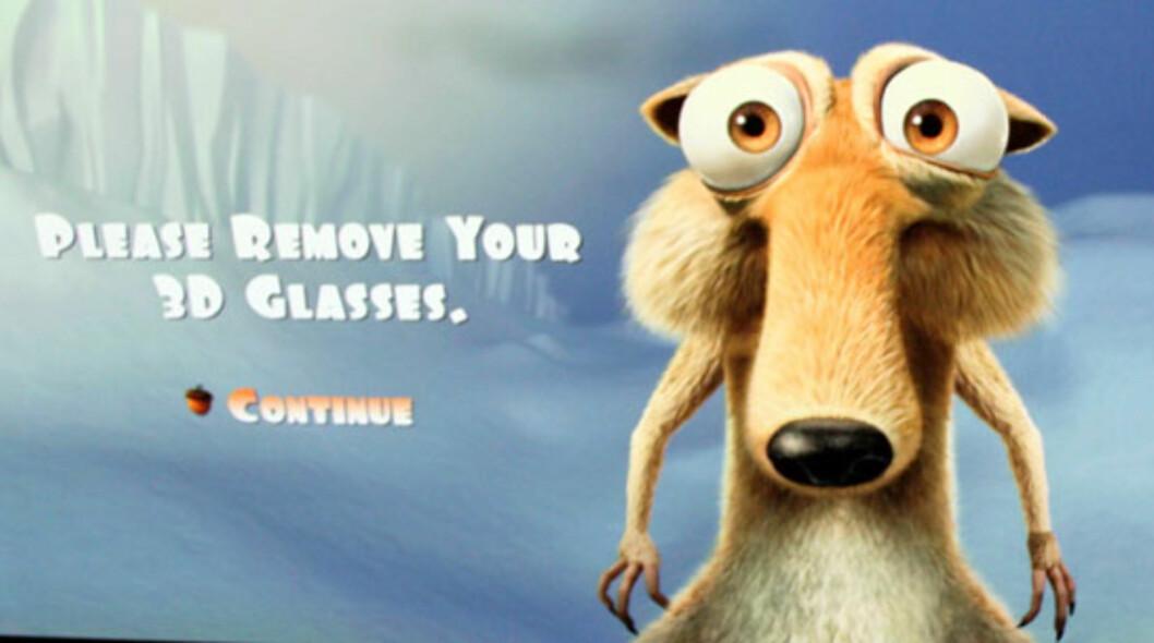 Istid er en av få tilgjengelige 3D-filmer på Blu-ray akkurat nå. Selges blant annet på Play.com Foto: Øyvind Paulsen