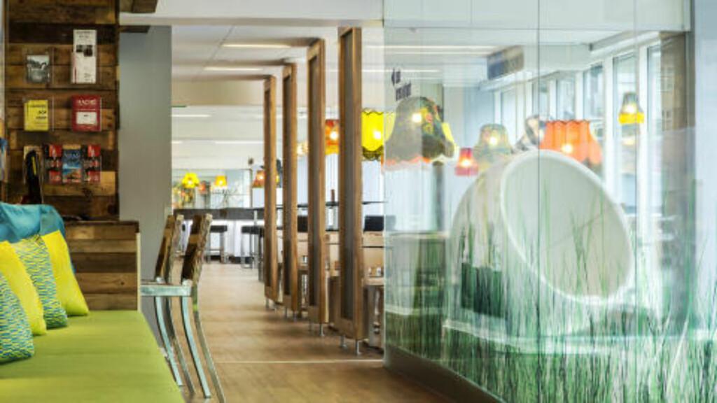 KØBENHAVN: Norden har ennå ikke mange luksusvandrerhjem, men i København finner du Generator Copenhagen. Foto: GENERATOR