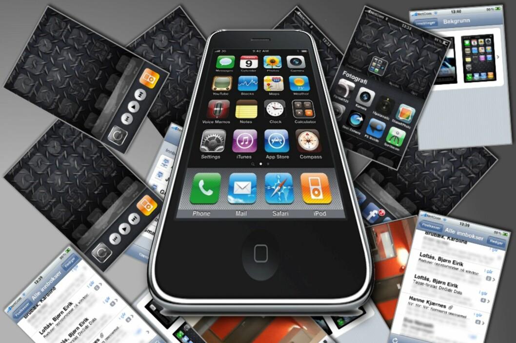 <strong><B>MYE NYTTIG:</strong></B> Apples siste operativsystem for blant annet iPhone, iOS 4, har ikke overveldende mange nyheter, men noe nyttig vil du nok finne.