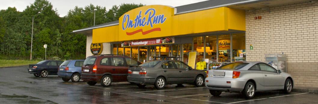 Kort har blitt kopiert i over to måneder på denne bensinstasjonen som mangler chip-løsning. Foto: Øivind Idsø