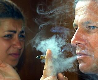 Nok en grunn til å unngå passiv røyking