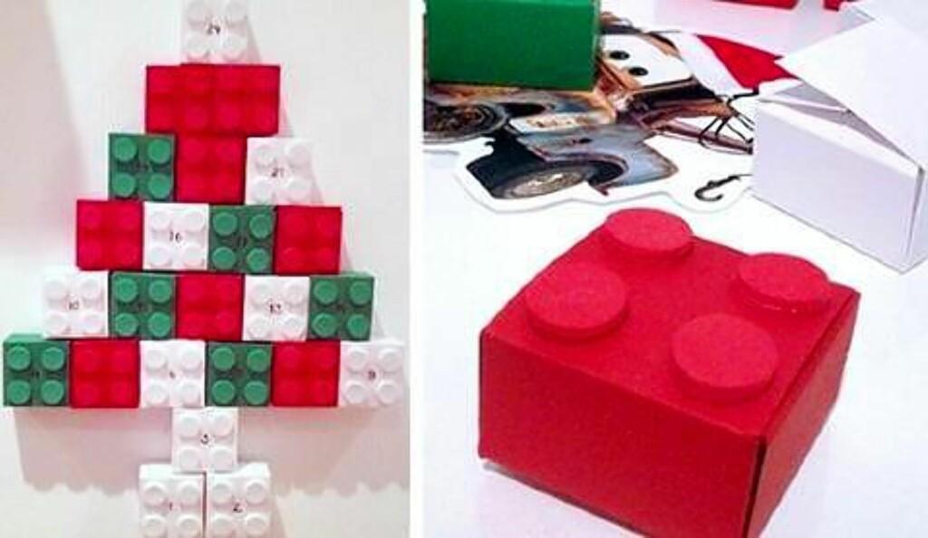 5. LEGOKLOSSER I PAPP: Bygg akkurat det du vil. Foto: tankespinnogvirvelvind.blogspot.noLegoklosser i papp: Bygg akkurat det du vil. Foto: tankespinnogvirvelvind.blogspot.no