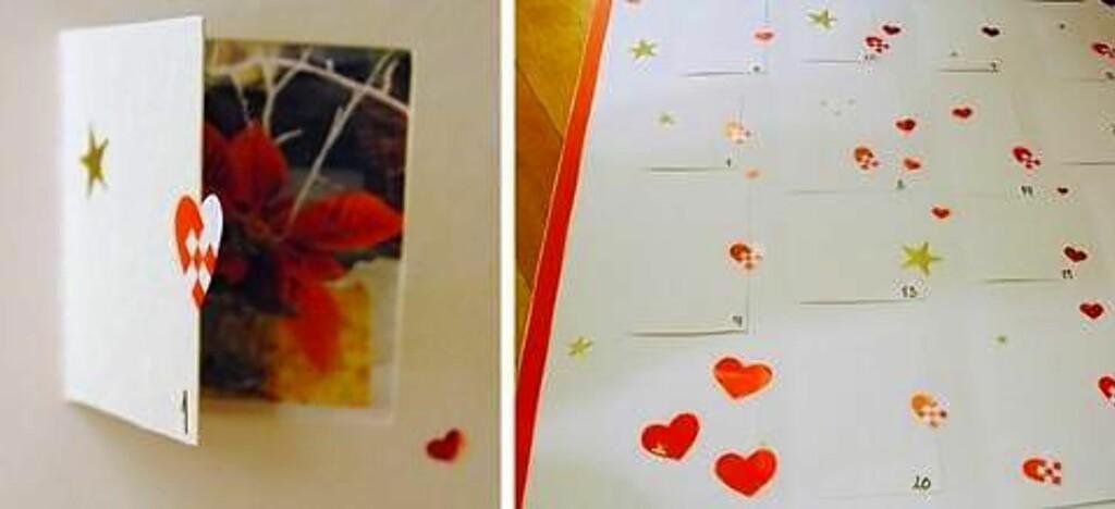 8. FIN GAVE: Kalenderen du tegner selv. Foto: ientretre.blogspot.no