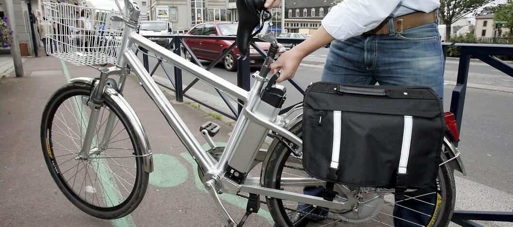 Statens vegvesen advarer mot enkelte typer el-sykler. Foto: Colourbox.com