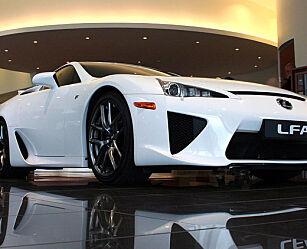image: Lexus LFA: En helt unik bil