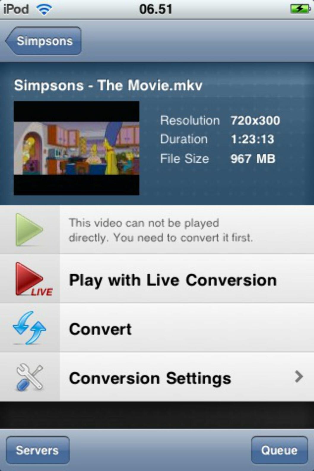 Spill DivX og MKV på iPod/iPad