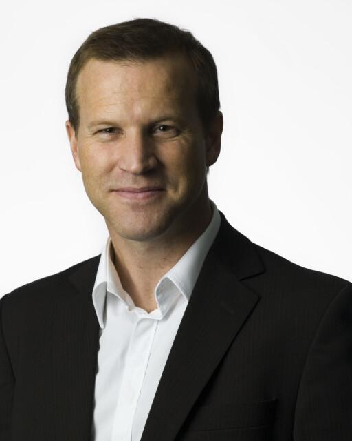 Anders Krokan, informasjonssjef i Telenor Foto: Telenor
