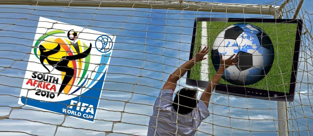 Fotball-VM 2010 starter klokken 16.00 den 11. juni og varer helt til 11. juli. I denne perioden kan du glede deg over hele 64 fotballkamper. Vi gir deg oversikt over hvilke TV-kanaler som viser dem - og hvilke innholdsleverandører som gir deg de ulike TV-kanalene. Foto: Per Ervland
