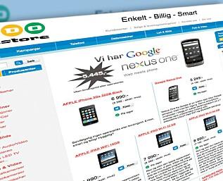 Ny nettbutikk: Er den billigst?