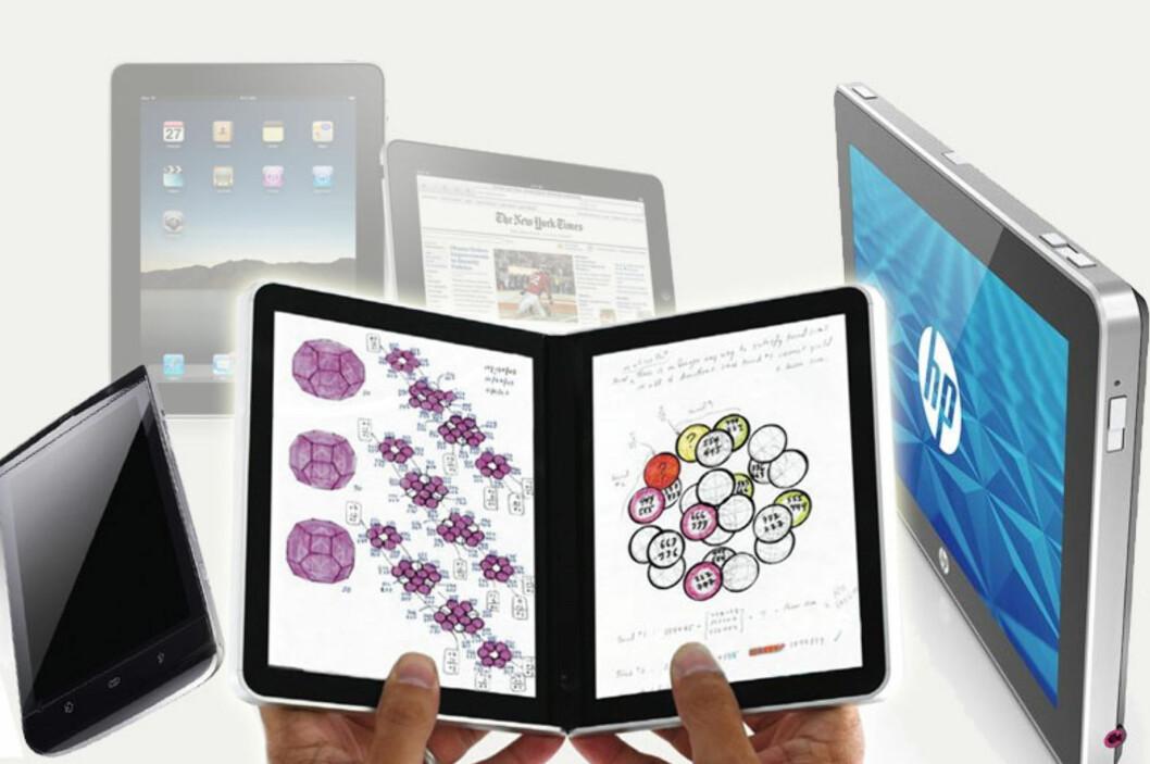 Skrinlegger iPad-konkurrenter