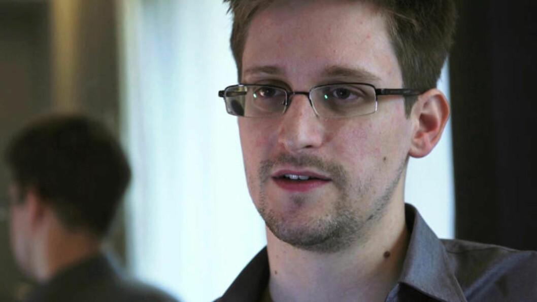 <strong>RYSTER VERDEN:</strong> Varsleren Edward Snowden avslører USAs massive overvåkning i en rekke land i hele verden - deriblant Norge. Foto: REUTERS/Glenn Greenwald/Laura Poitras/Courtesy of The Guardian/Handout/NTB scanpix