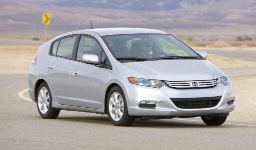 Hybridbilen Honda Insight kom til finalen, men ble slått av Volkswagen.
