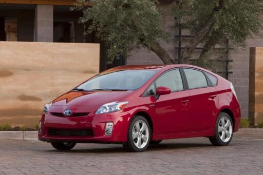Også Toyota Prius måtte se seg slått på målstreken.