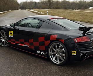 Audi får bakhjulsdrift!