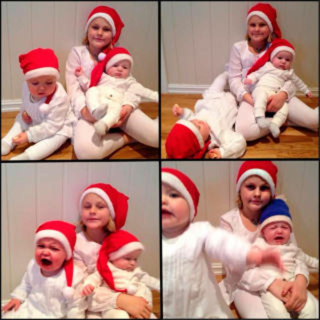 IKKE LETT... Hyl og vræl - og god jul! Foto: Cecilie S. Tremyr