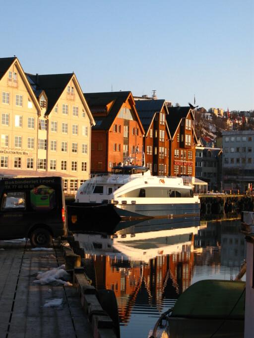 Norges vennligste finner du i Tromsø.