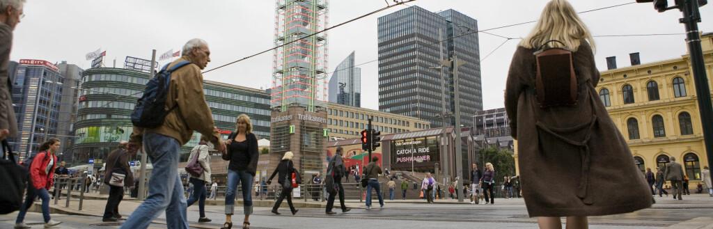 <b>UVENNLIG:</b> Oslofolk er Norges mest uvennlige, ifølge en avstemming på DinSide. Foto: Per Ervland