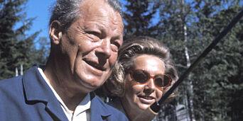 image: - Far og jeg hadde et nært og varmt forhold, sier Willy Brandts norske datter