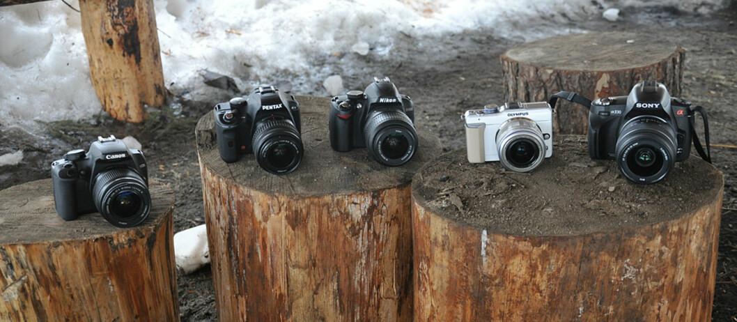 TEST: De billigste speilreflekskameraene