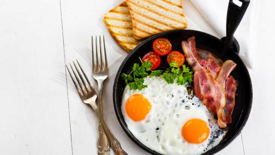 <strong>EGG:</strong> Egg er proppfulle av proteiner, vitaminer og mineraler som er bra for helsa, og er derfor perfekt å spise til frokost. Foto: FOTOLIA