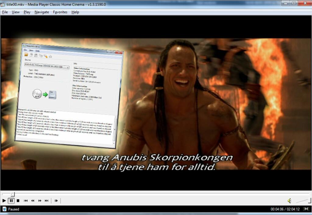 MakeMKV - enkel kopiering av Blu-ray og DVD - DinSide