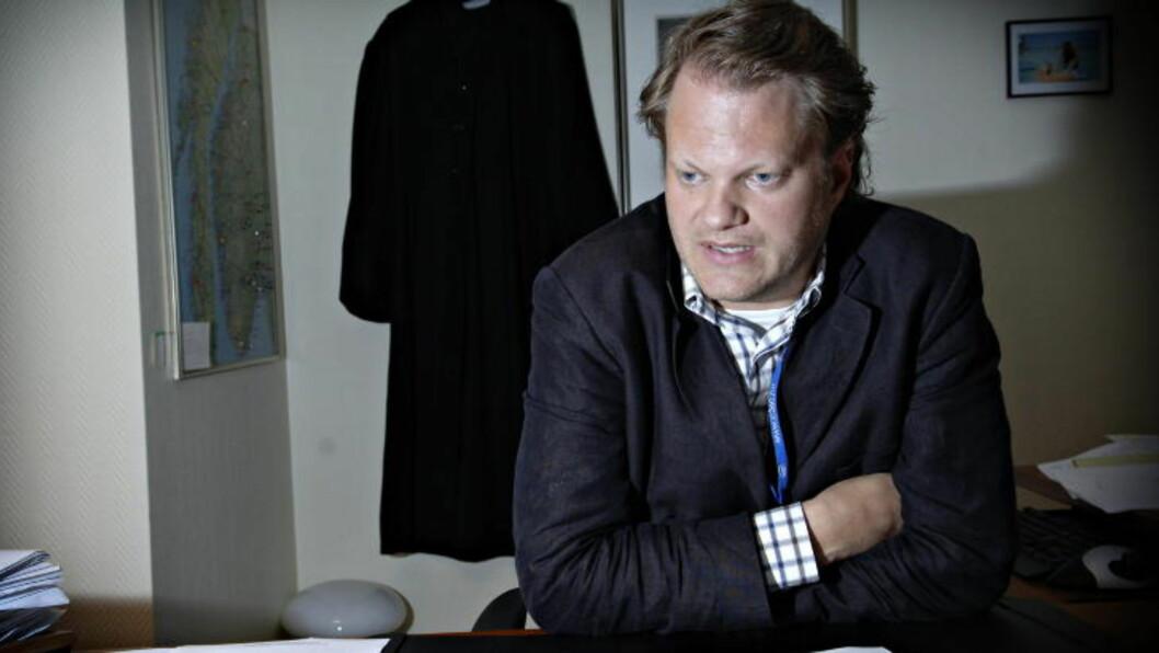 <strong>FORSVARER:</strong>  Advokat Thomas Klevenberg bekrefter at den kvinnelige legen er siktet for mordbrann. Foto: Robert S. Eik/Dagbladet
