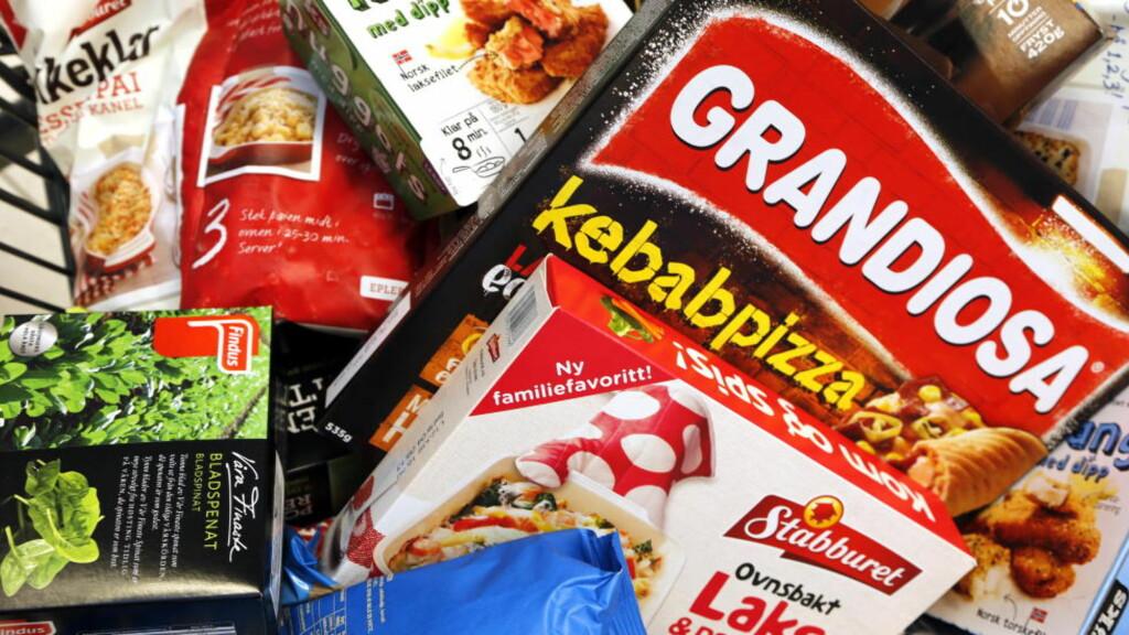 BESTILL PÅ NETT, HENT I BUTIKK: Nye nettjenester som lar deg bestille maten på nettet og hente ferdige handleposer i butikk eller andre hentesteder, kommer snart for alvor i Norge.  Foto: NTB Scanpix