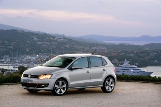 FINALIST: Volkswagen Polo. Vant den europeiske kåringen for 2010.