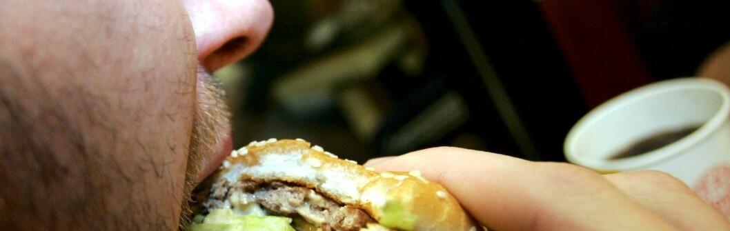 <strong>TRYGG MAT:</strong> McDonald's er kanskje ikke det sunneste alternativet, men det er helt trygt å spise. Foto: colourbox.com