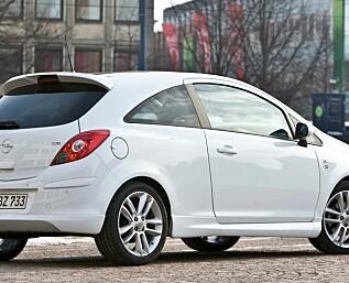 Opel Corsa oppgradert