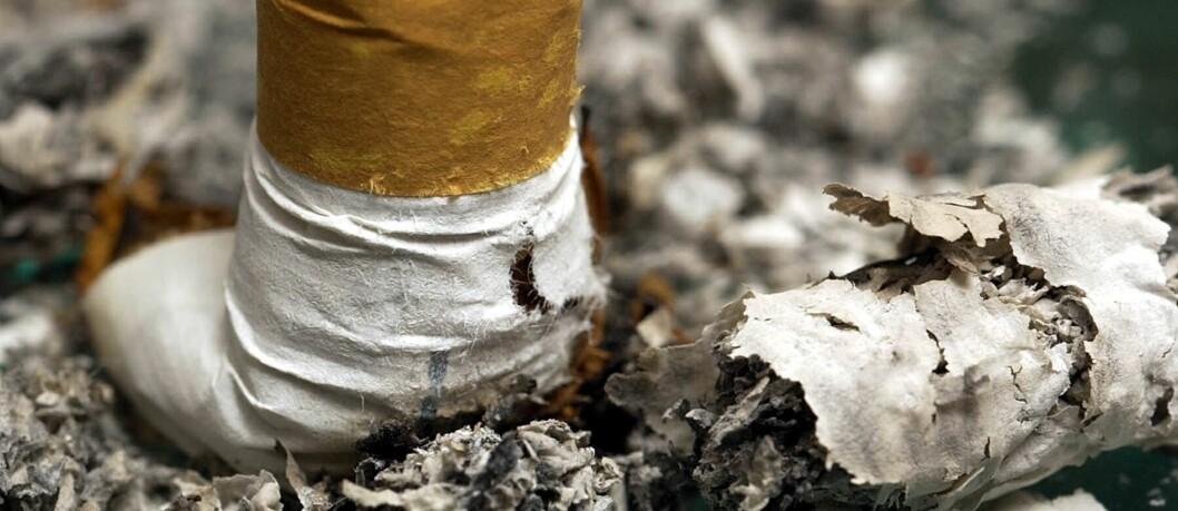 I tillegg til en rekke positive helsefordeler, gjør røykeslutt også svært godt for lommeboka. Tenk på alle pengene du kommer til å spare! Foto: colourbox.com
