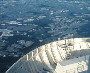 Det skal mer til enn is for å stoppe danskebåten